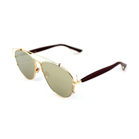 Women's Technologic Sunglasses // Gold