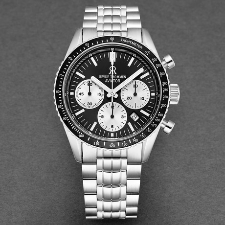Revue Thommen Aviator Chronograph Automatic // 17000.6134