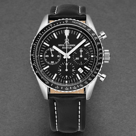 Revue Thommen Aviator Chronograph Automatic // 17000.6537