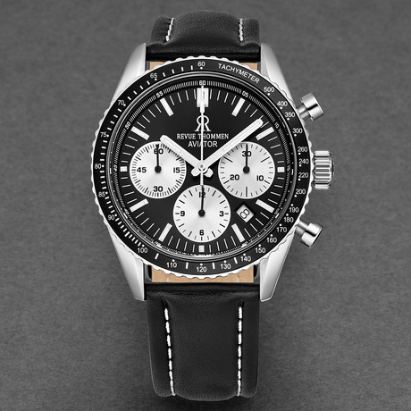 Revue Thommen Aviator Chronograph Automatic // 17000.6534