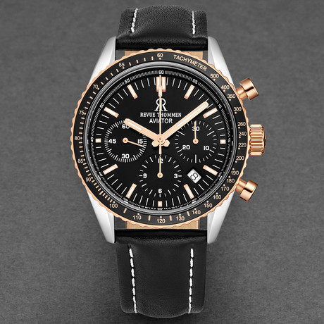 Revue Thommen Aviator Chronograph Automatic // 17000.6557
