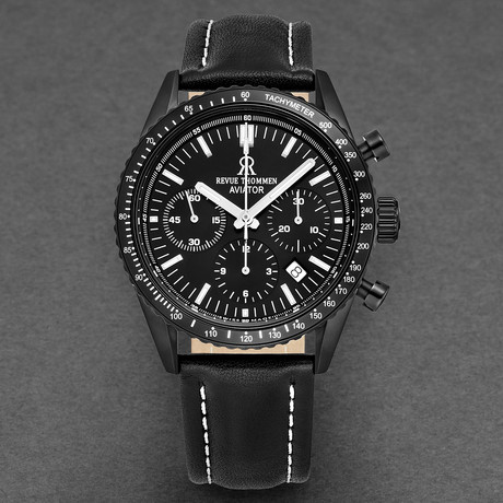 Revue Thommen Aviator Chronograph Automatic // 17000.6577 // New