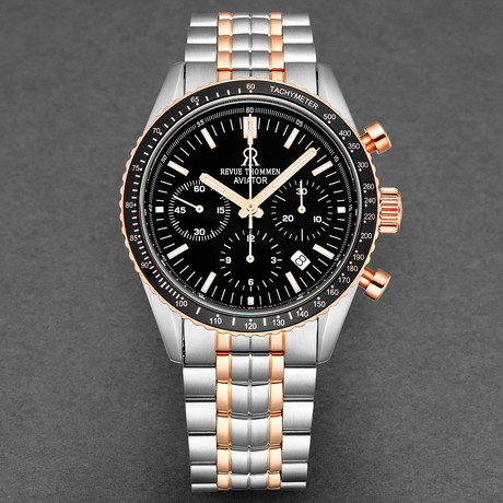Revue Thommen Aviator Chronograph Automatic // 17000.6157