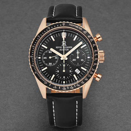 Revue Thommen Aviator Chronograph Automatic // 17000.6567 // New