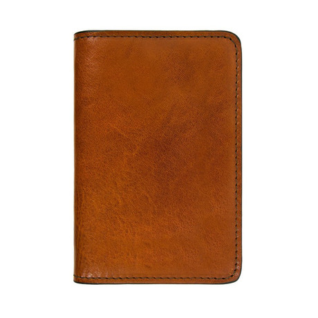 Gulliver's Travels // Leather Passport Holder // Brown