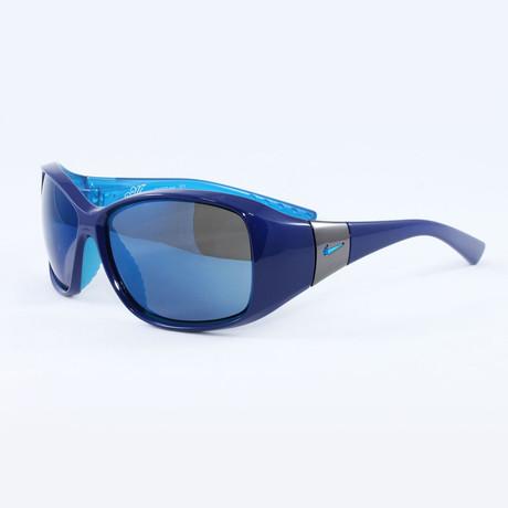 Women's EV0579-444 Minx Sport Sunglasses // Royal Blue + Neo Turquoise