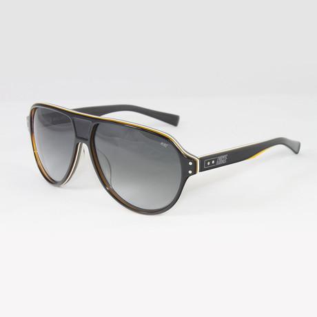 Unisex EV0725-002 MDL235 Sport Sunglasses // Black + Milky Gray