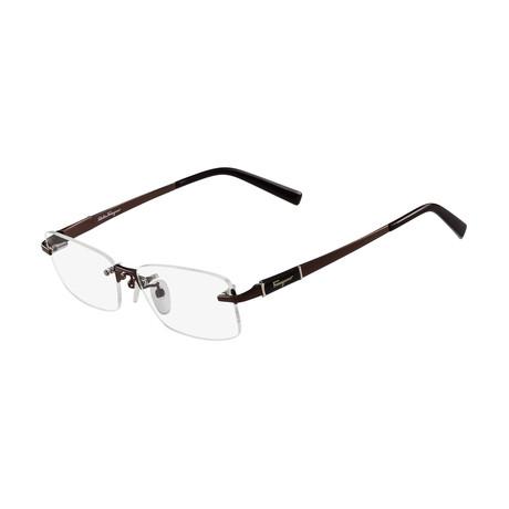 Men's SF2527A-210 Optical Frames // Shiny Brown