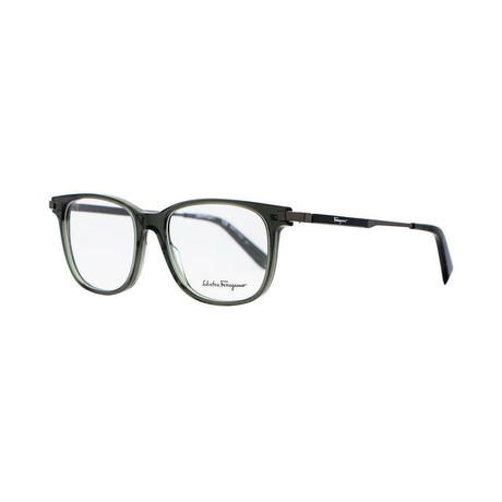 Men's SF2803-057 Optical Frames // Crystal Gray