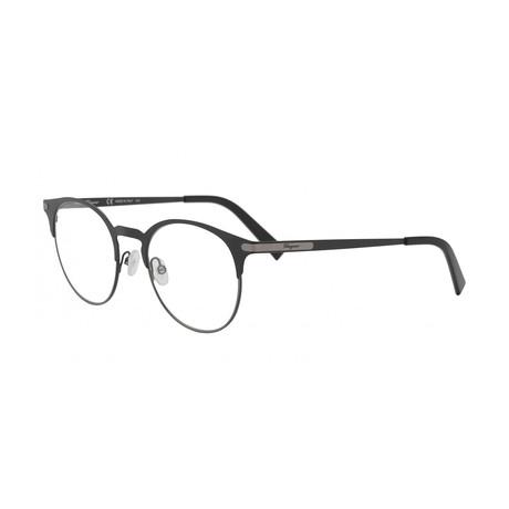Men's SF2190-021 Optical Frames // Black Ruthenium