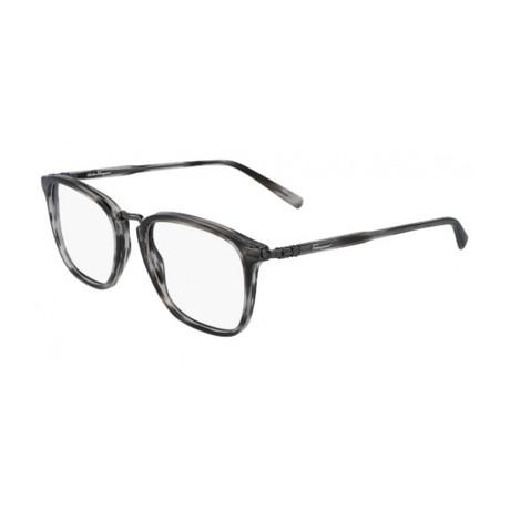 Men's SF2822-003 Optical Frames // Striped Gray