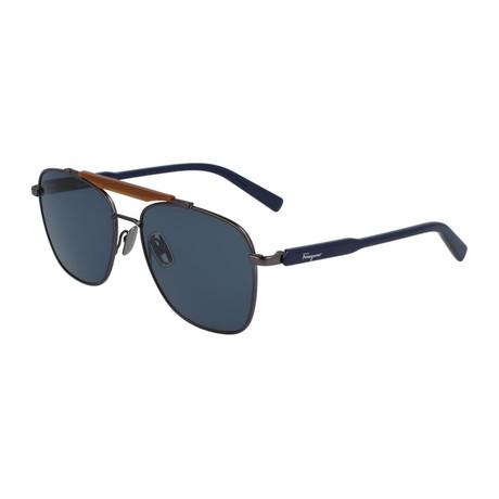 Men's SF198S-033 Sunglasses // Matte Dark Gunmetal