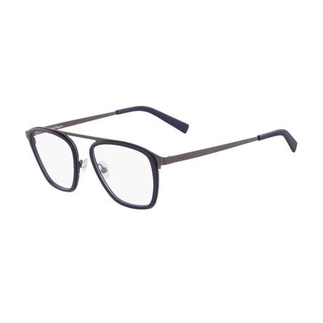 Men's SF2834-414 Optical Frames // Blue