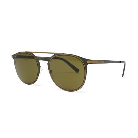 Men's SF186S-328 Sunglasses // Matte Olive Green