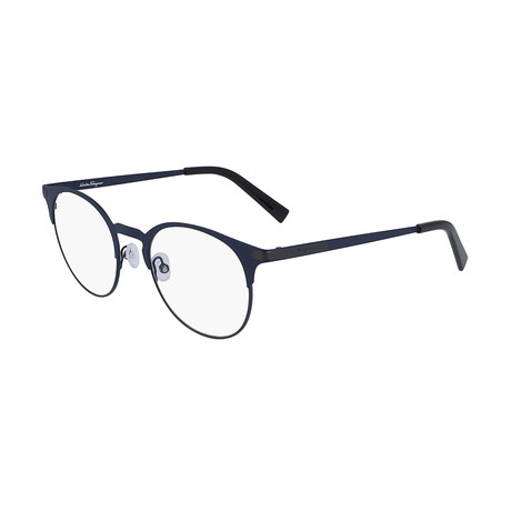 Men's SF2190-463 Optical Frames // Blue Ruthenium
