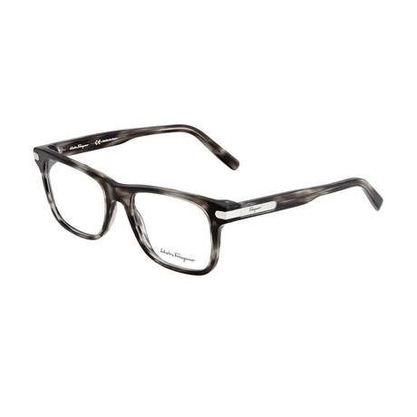 Men's SF2829-003 Optical Frames // Striped Gray