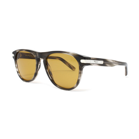 Men's SF916S-003 Sunglasses // Striped Gray