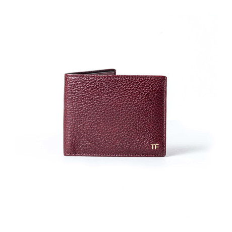 Leather Wallet // Burgundy