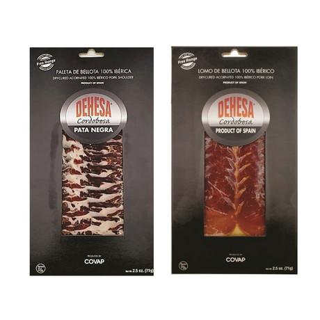 Acorn-Fed Iberico Shoulder + Pork Loin Slices