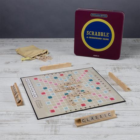 Monopoly/Scrabble/Clue Vintage Tin Assortment