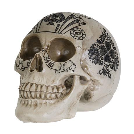 Royal Flush Skull