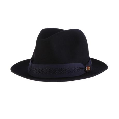 Deco Hat // Navy (6.875)