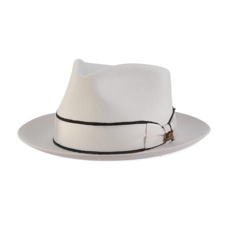 Gatsby Hat // White (6.75)