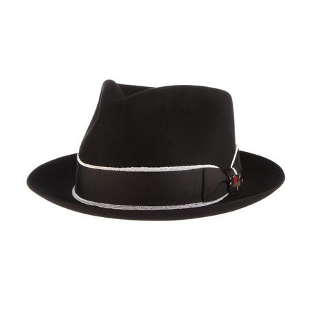 Gatsby Hat // Black (6.75)