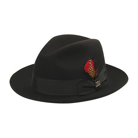 Detroit Hat // Black (6.875)