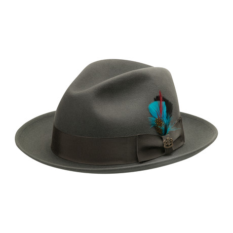 Florence Hat // Steel (6.75)
