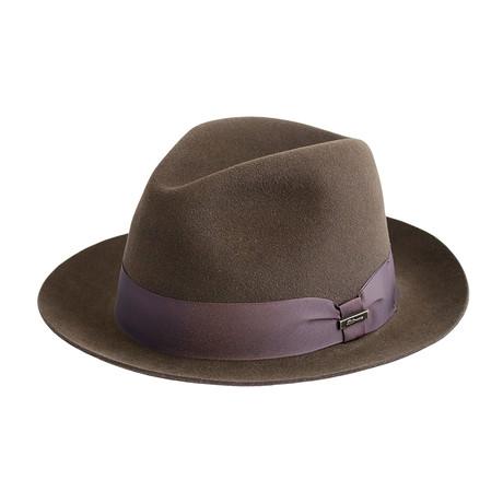Belasco Hat // Chocolate (Medium)