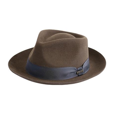 Majestic Hat // Chocolate (Medium)