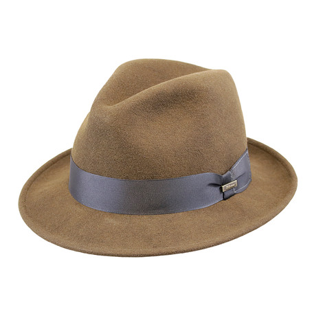 Broadway Hat // Chocolate (Medium)