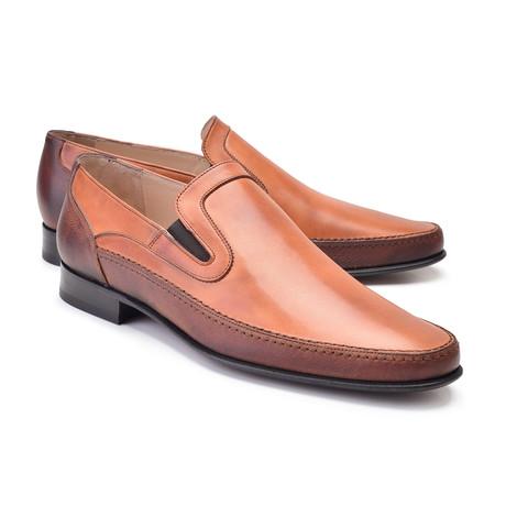 Plain Toe Loafer // Tan (US: 7)