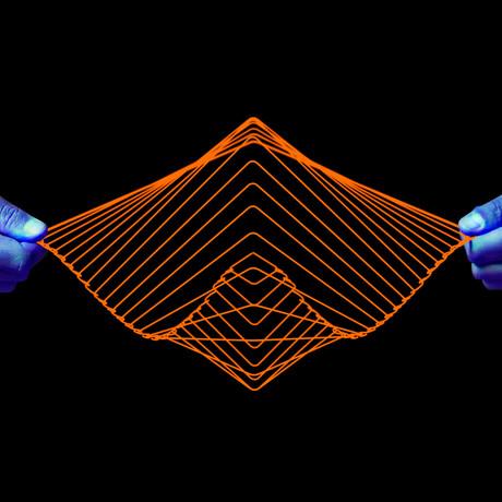 Square Wave // Limited Edition Neon Orange