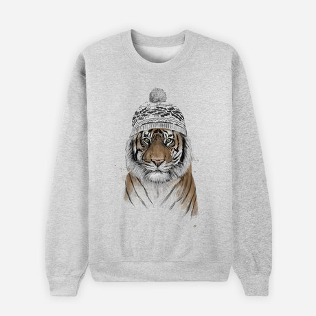 Siberian Tiger Sweatshirt // Gray (S)
