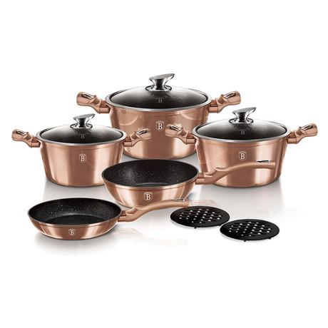 10-Piece Cookware Set // Rose Gold