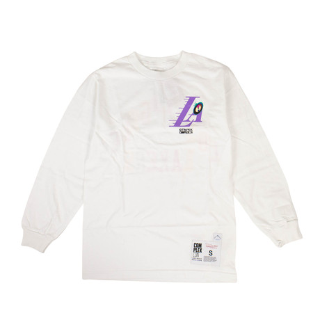 Takashi Murakami x Complexcon La Lakers Long-Sleeve T-Shirt // White (S)