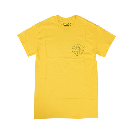 Takashi Murakami x Complexcon Cluster Short-Sleeve T-Shirt // Yellow (S)