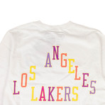 Takashi Murakami x Complexcon La Lakers Long-Sleeve T-Shirt // White (M)