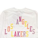 Takashi Murakami x Complexcon La Lakers Long-Sleeve T-Shirt // White (M)