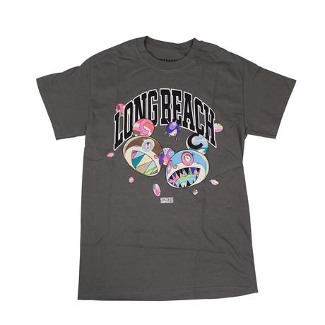 Takashi Murakami x Complexcon Long Beach Discord T-Shirt // Gray (S)