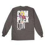 Takashi Murakami x Complexcon Cluster Long-Sleeve T-Shirt // Gray (S)