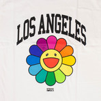 Takashi Murakami x Complexcon Los Angeles Flower T-Shirt // White (2XL)