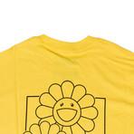Takashi Murakami x Complexcon Cluster Short-Sleeve T-Shirt // Yellow (L)