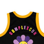 Takashi Murakami x Complexcon La Lakers Basketball Jersey // Black (L)