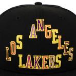 Takashi Murakami x Complexcon La Lakers Snapback Baseball Cap // Black