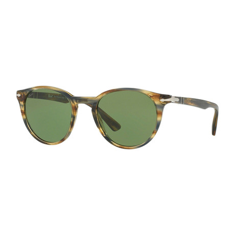 Men's 3152S Sunglasses // Gray Havana + Green