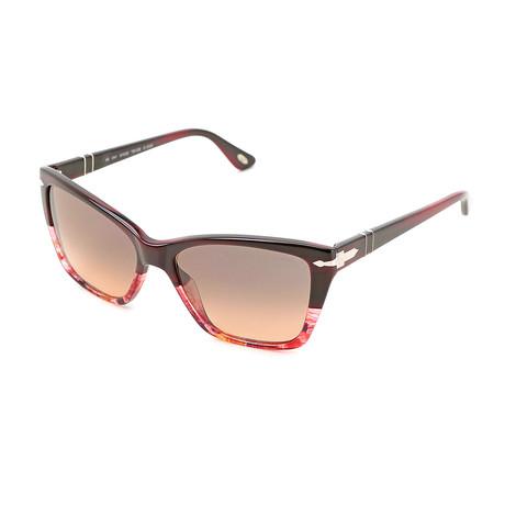 Men's 3023S Sunglasses // Red Havana + Brown Gradient