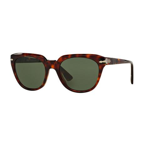 Men's 3111 Sunglasses // Havana + Green